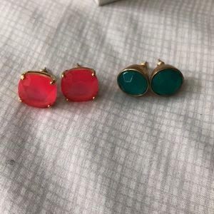 KATE SPADE 2 SETS OF EARRINGS